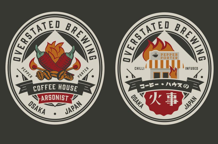 Beer Label Graphic Design
