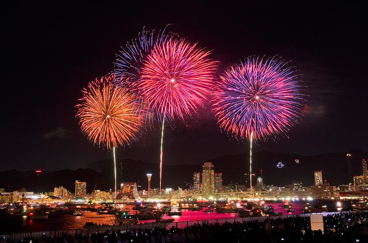 Fireworks many