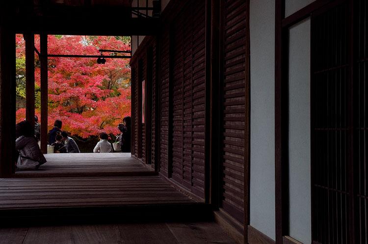 Nanzenji into the garden