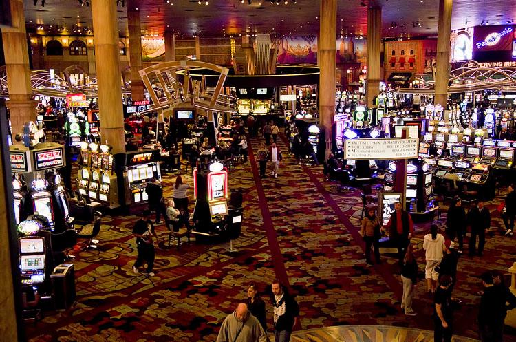 Casino floor at New York, New York