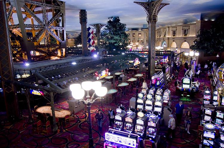 Paris casino floor